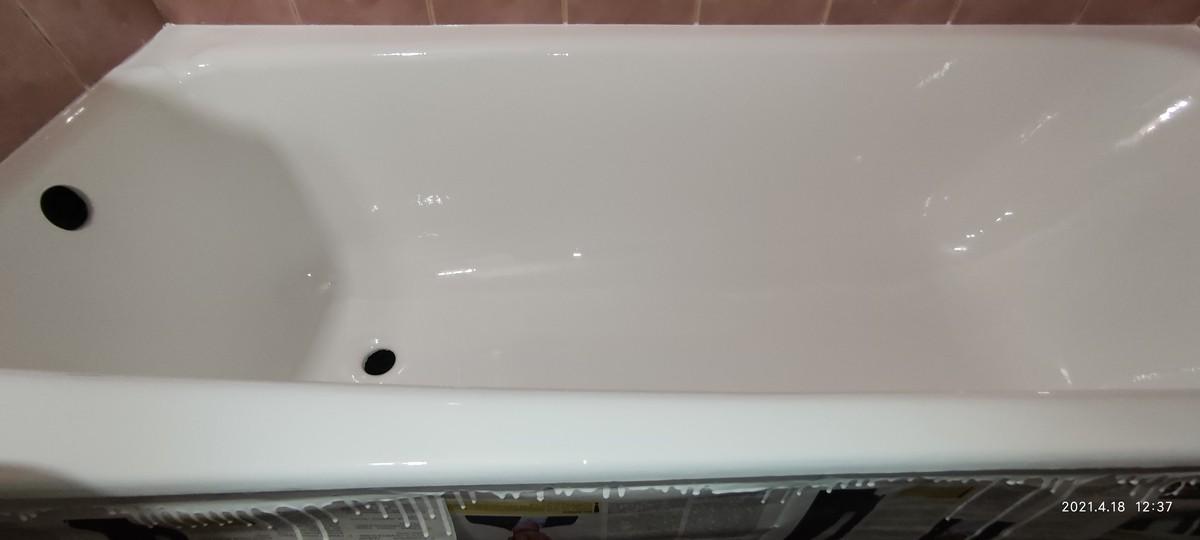 отреставрированная ванна